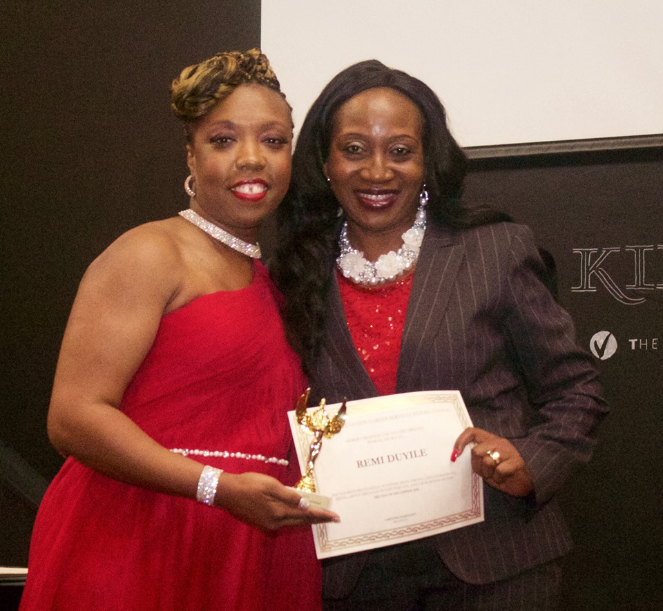 Lakeisha and Awardee Remi Duyile