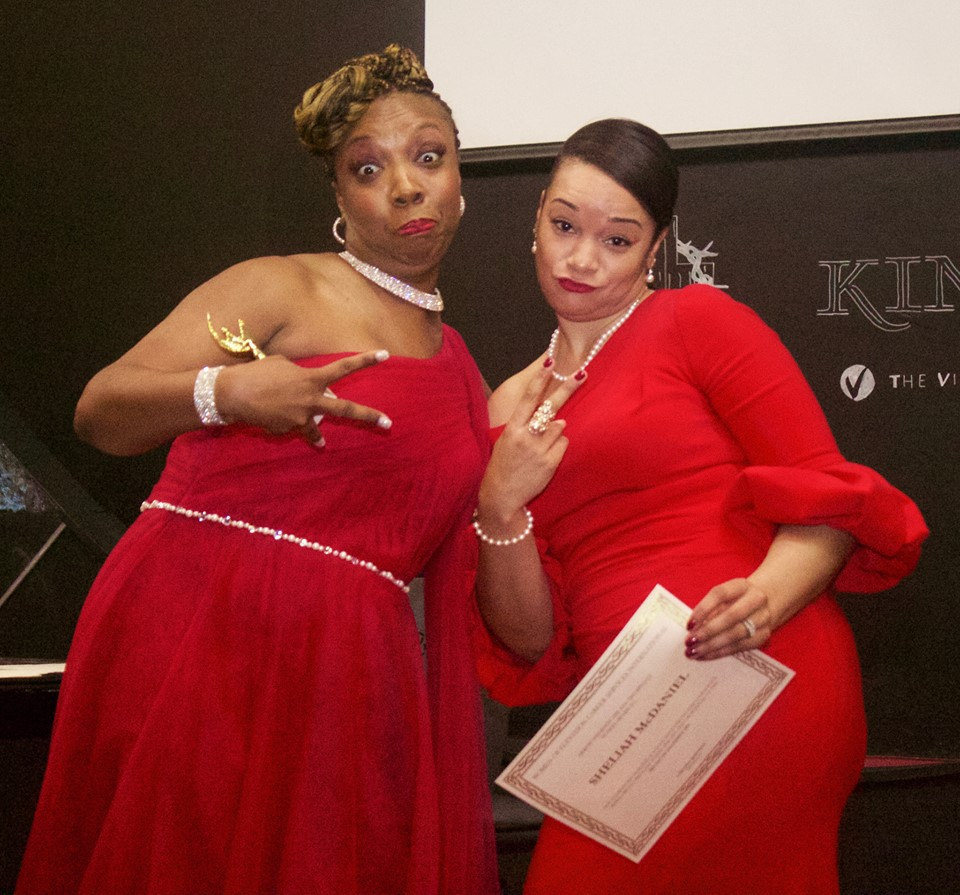 Lakeisha & Awardee Sheliah McDaniel (Fun Pose)